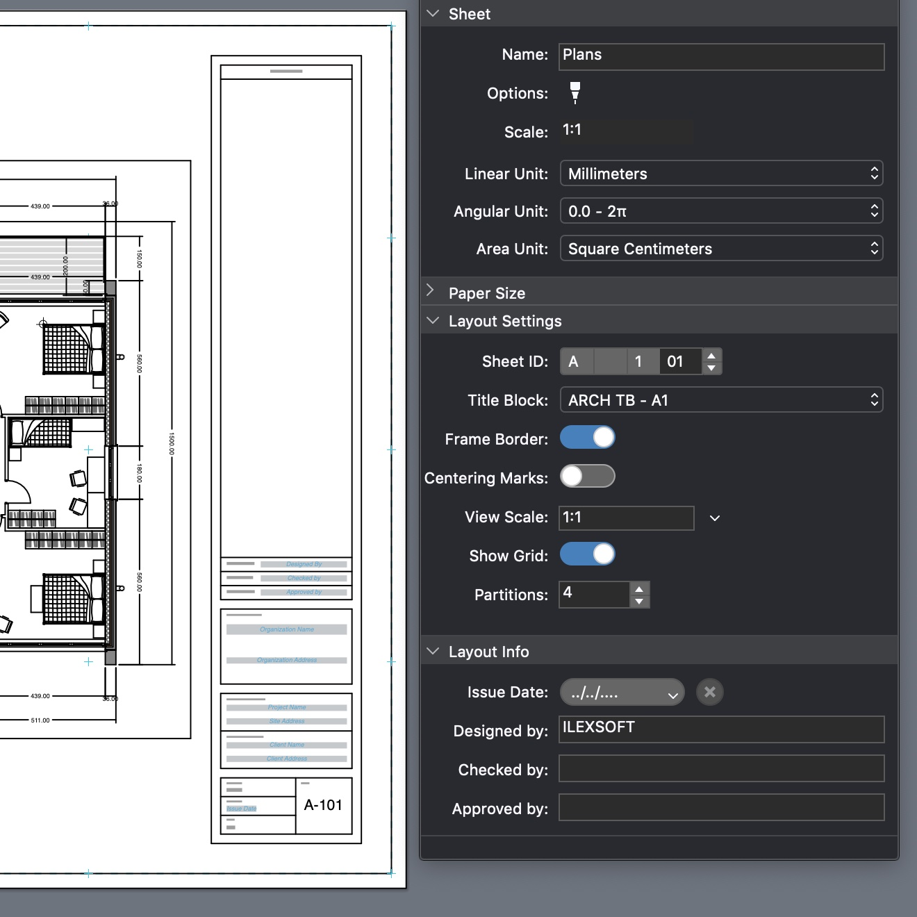 HighDesign R5 Layout, Viewports and Title Block